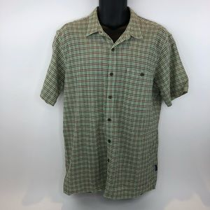 Patagonia Organic Cotton Short Sleeve Button Front